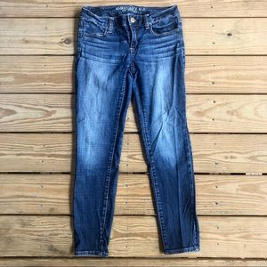 """AE ankle length skinny jeans (""""the jegging"""")"""
